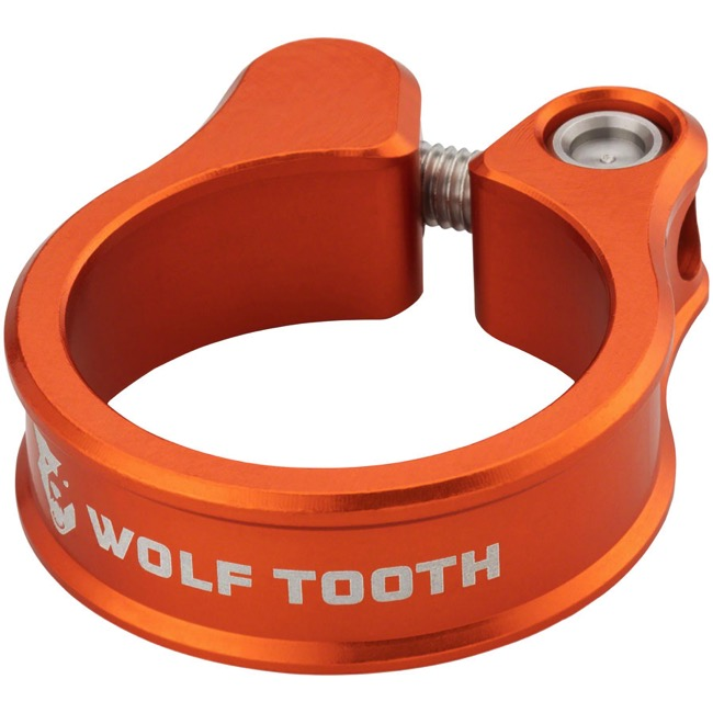 Wolf Tooth Components Seatpost Clamp - 31.8mm (Orange)