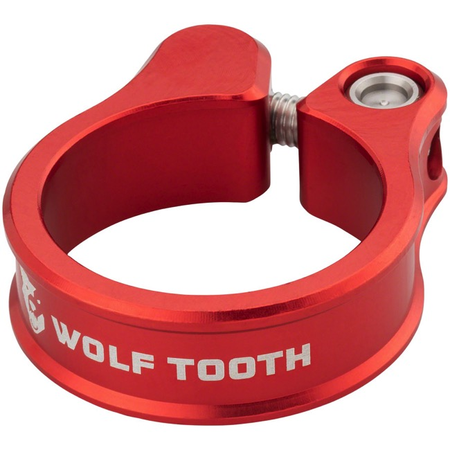 Wolf Tooth Components Seatpost Clamp - 34.9mm (Red)