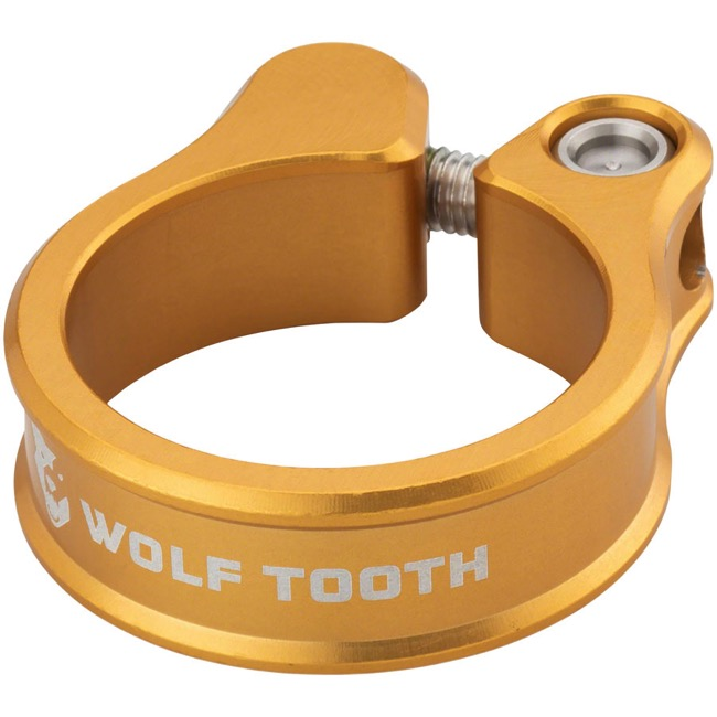 Wolf Tooth Components Seatpost Clamp - 34.9mm (Gold)
