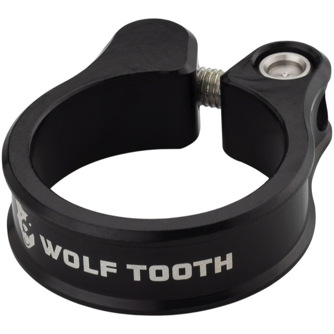 Wolf Tooth Components Seatpost Clamp - 36.4mm (Black)