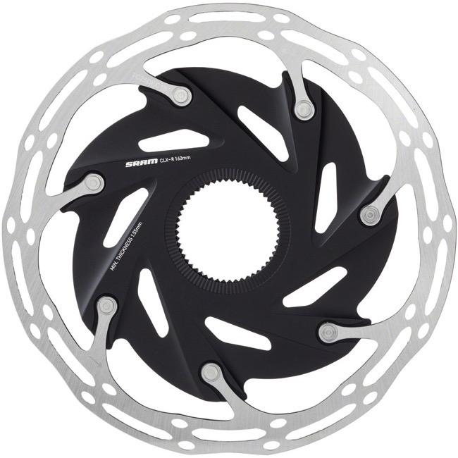 Y72N Ti Bolts 103g SRAM AVID CENTERLINE 2P Disc Rotor 160mm Black
