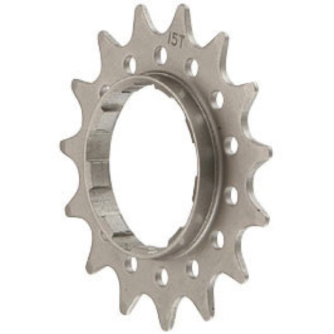 14 tooth Single Speed steel cassette cog