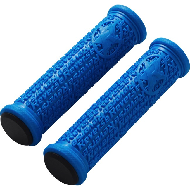Reverse Components Stamp Grips - Pair (Blue)
