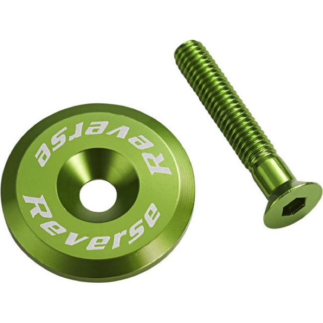 Reverse Components Headset Top Cap/Bolt - Light Green