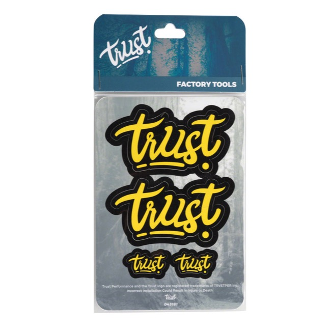 Trust Perfomance Message Decal Kits - Decal Kit (Yellow)
