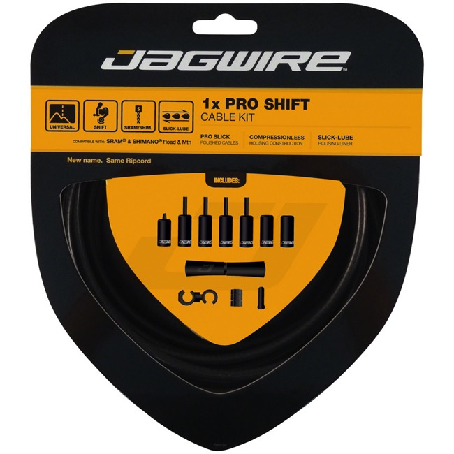 Jagwire Universal Pro 1x Shift Cable/Housing Set - Stealth Black