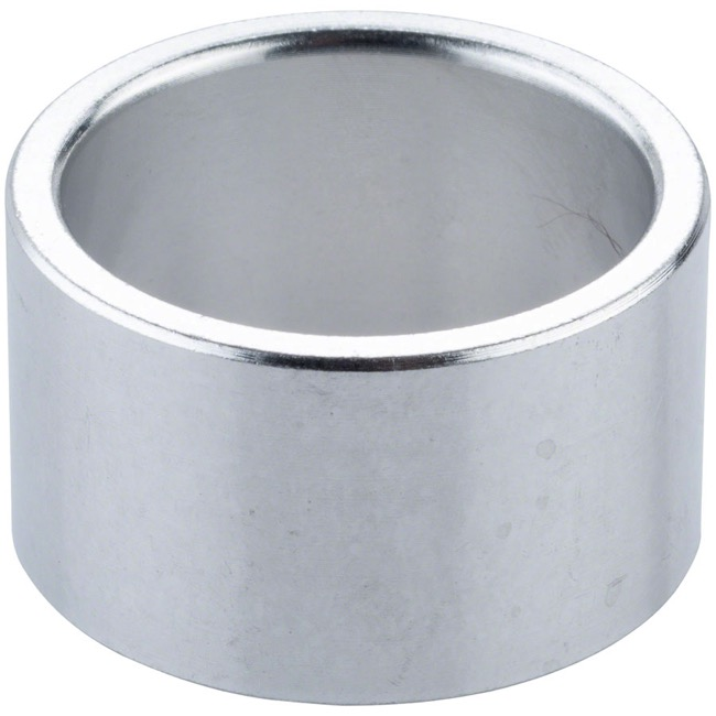 "Problem Solvers Alloy Headset Spacers - 1 1/8"" x 20mm, Each (Silver)"