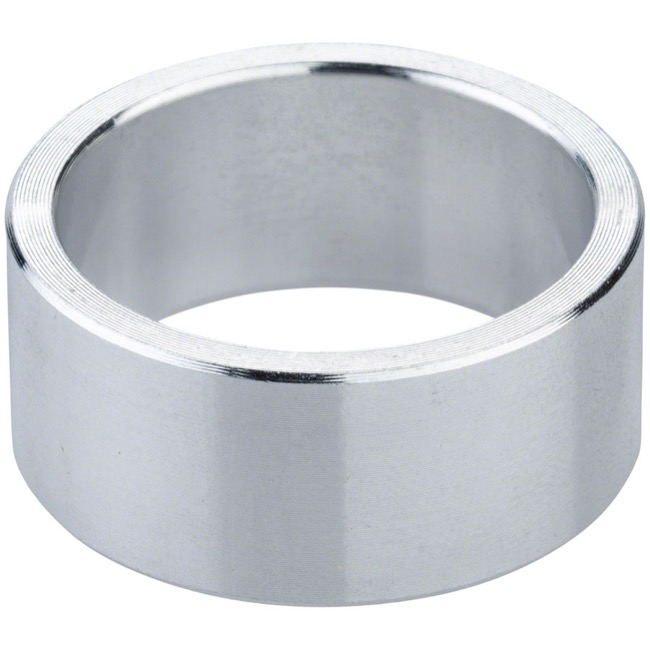 "Problem Solvers Alloy Headset Spacers - 1 1/8"" x 15mm, Each (Silver)"