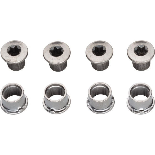 Shimano Chainring Bolts - SLX M7000 Middle/Outer Ring Bolt Set for 3x (Set of 8)
