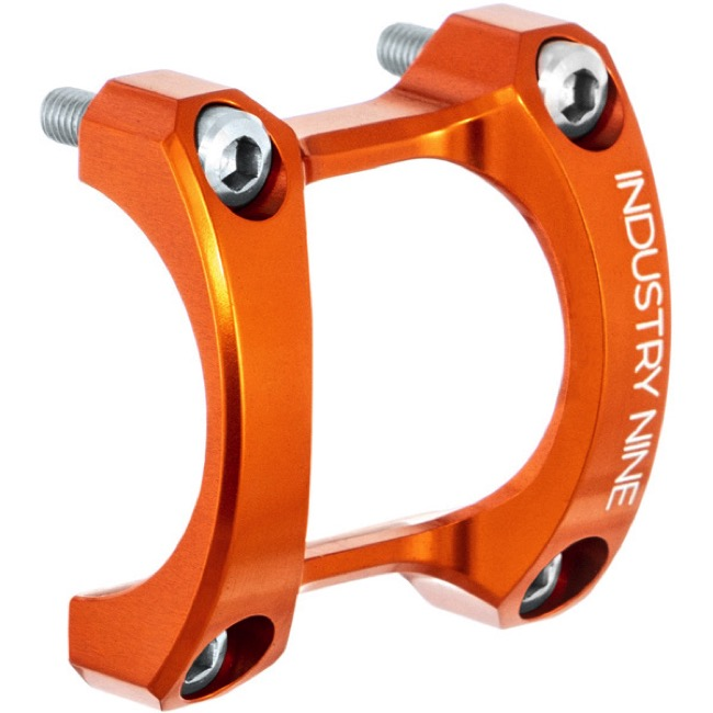 Industry Nine A35 Stem Face Plate Red