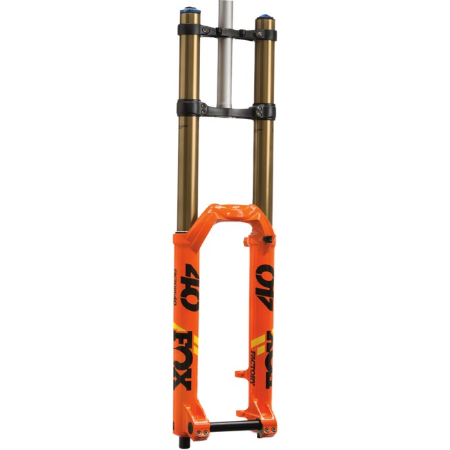 "Fox 40 Float FIT GRIP2 29"" Fork 2020 - Factory Series - 1 1/8"" Steerer, 203mm Travel, 20x110mm ""Boost"" Thru Axle (Shiny Orange)"