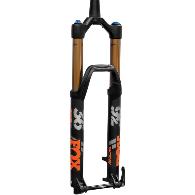 "Fox 36 Float FIT4 3-Pos 29"" Fork 2020 - Factory Series - 1.5"" Tapered Steerer, 160mm Travel, 15x100mm TA, 51mm Offset (Black)"