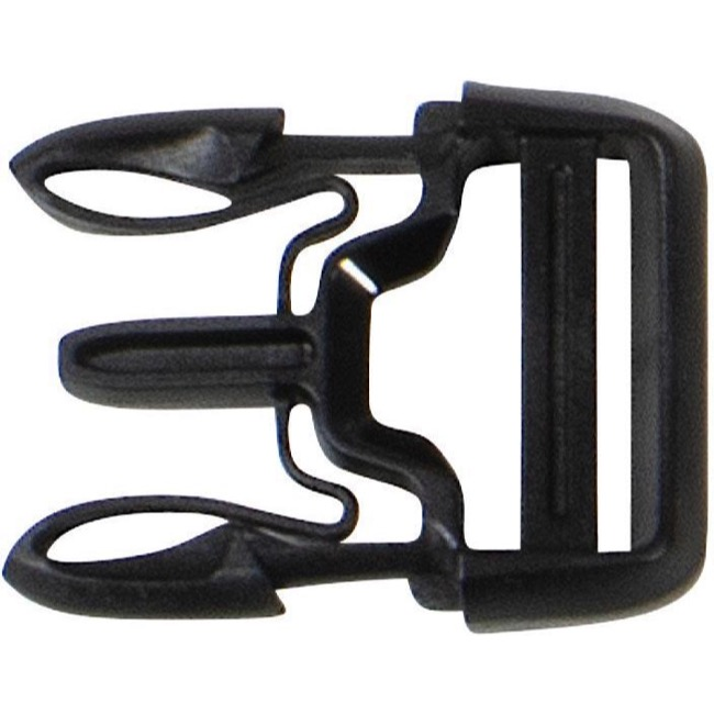 Ortlieb Replacement Buckles - X-Lite Side-Release 25mm (Commuter-Bag/Commuter-Bag Two/Rack-Pack Urban)