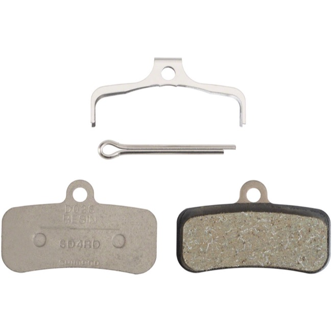 Shimano Disc Pads - D03S Resin/Steel Back (Saint-M810/820 & Zee BR-M640)