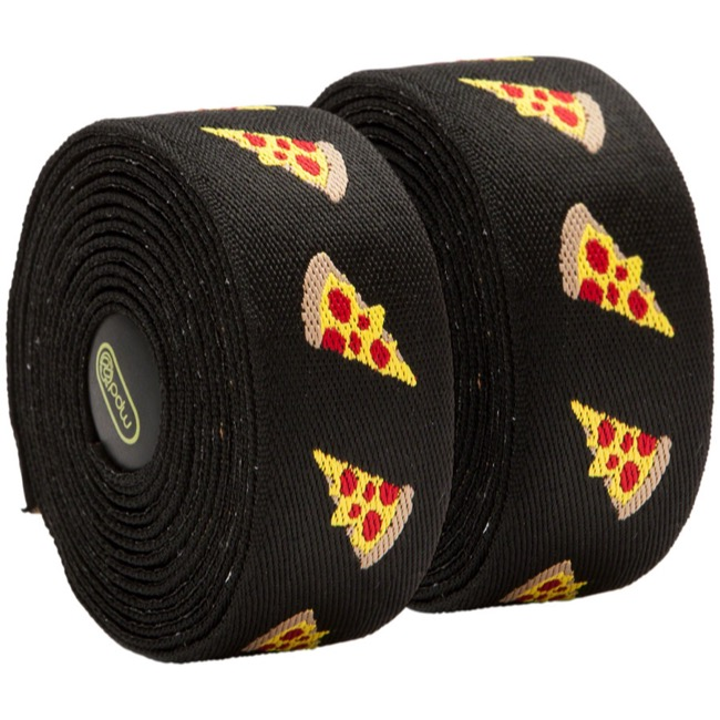 Portland Design Works Yo! Handlebar Tape - Pizza - Black w/Pizza