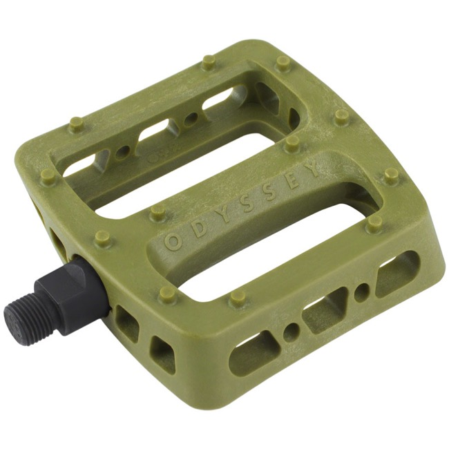 "Odyssey Twisted PC Pedals - 9/16"" - Pair (Army Green)"