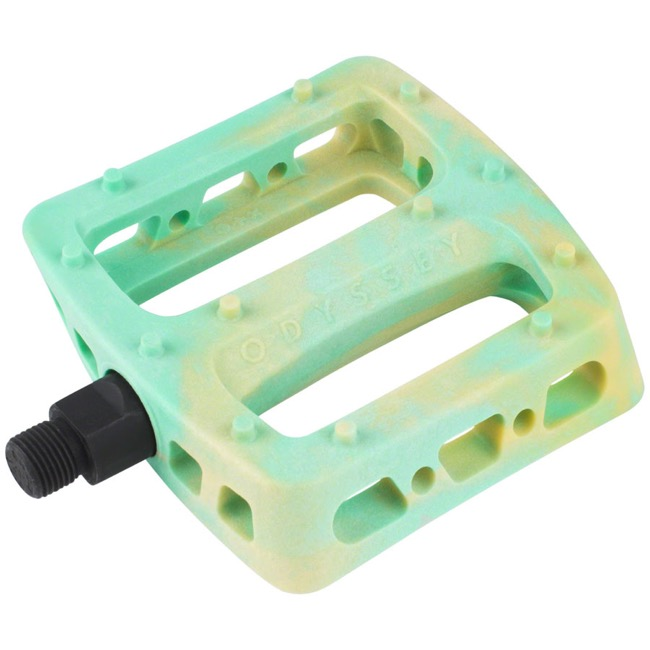 "Odyssey Twisted PC Pedals - 9/16"" - Pair (Sherbert Swirl)"