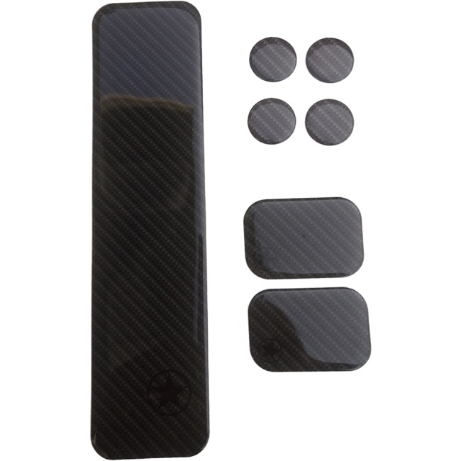 Bike Armor Road Shield Kit - 7 Piece Kit (Carbon)