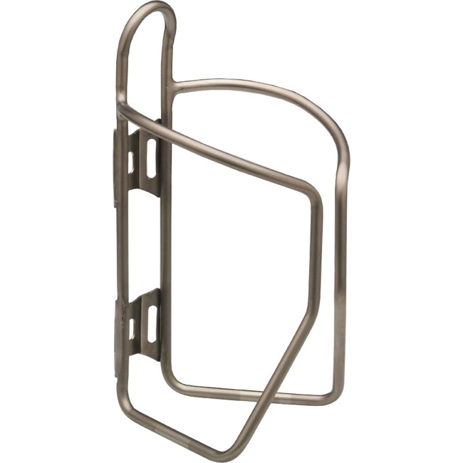 Salsa Nickless Stainless Water Bottle Cage - Stainless Cage