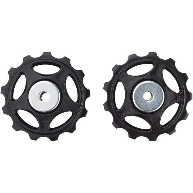 Shimano Derailleur Pulleys and Bolts - Alivio M410, Pulley Set (Pair)