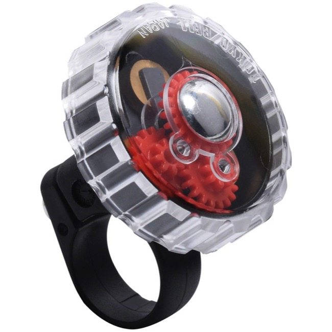 Incredibell Gear Bell - Black/Multi-Color