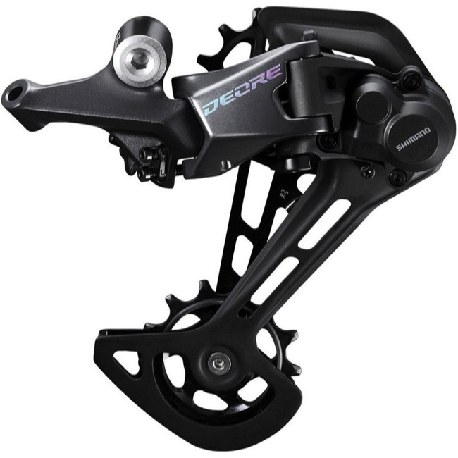 Shimano RD-M6100 Deore Rear Derailleur - 12 Speed - Long Cage for 1x, SGS (Black)