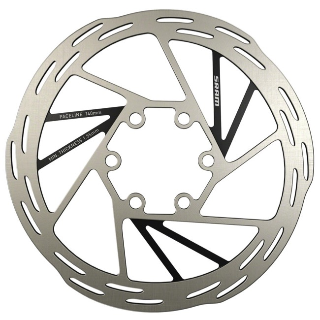 Sram Paceline Rounded Edge Disc Rotors - 140mm (6 Bolt)