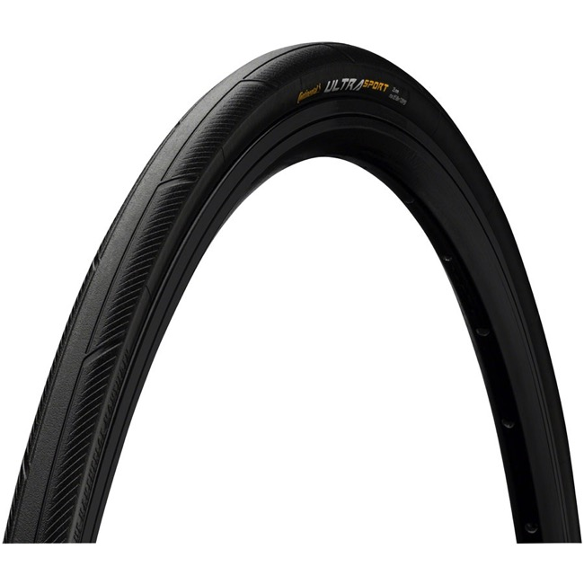 Continental Ultra Sport III Wire Bead Tires - 700 x 23c (Steel Bead)