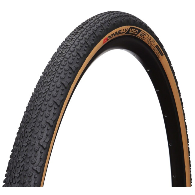 Donnelly X'Plor MSO WC Tubeless Ready Tire - 700 x 40c Folding Bead (Black/Tan Sidewall)