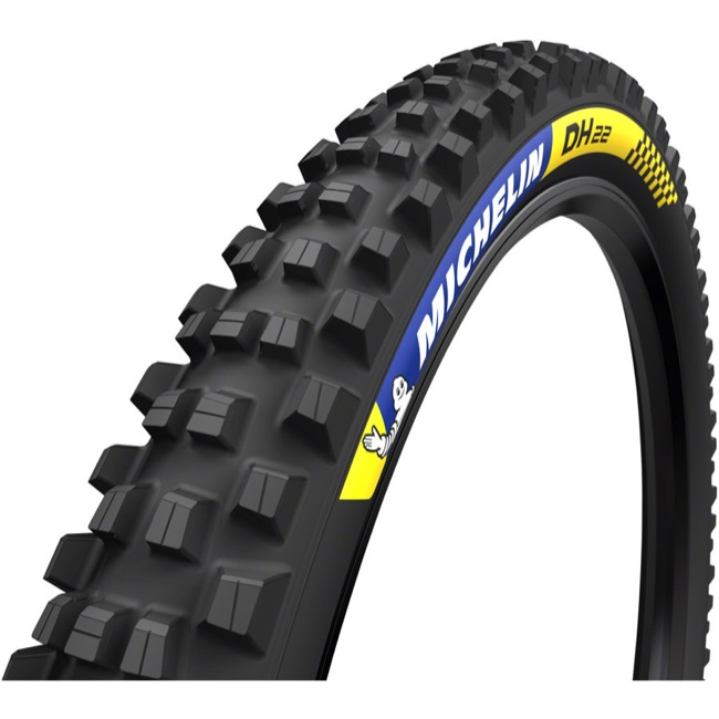 "Michelin DH22 Tubeless Ready 29"" Tire - 29 x 2.4"" (Folding Bead)"