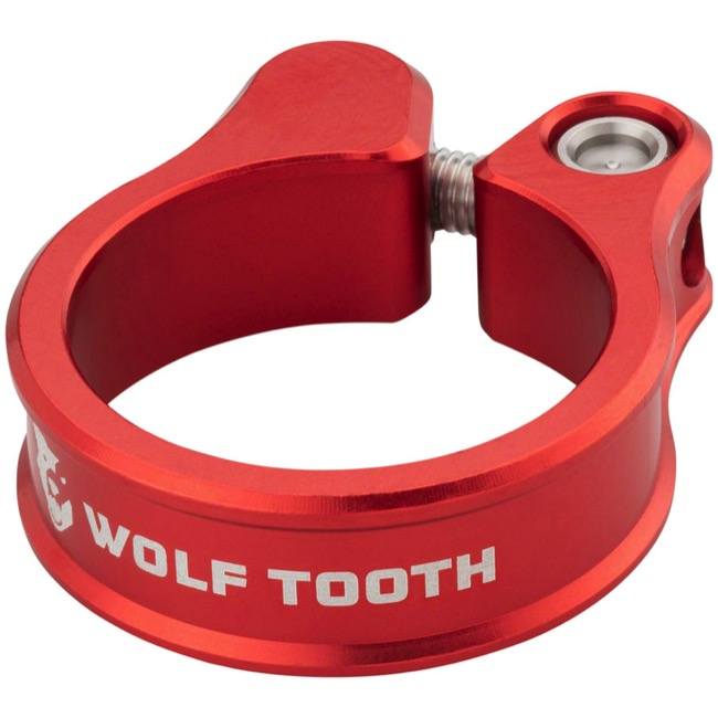 Wolf Tooth Components Seatpost Clamp - 28.6mm (Red)