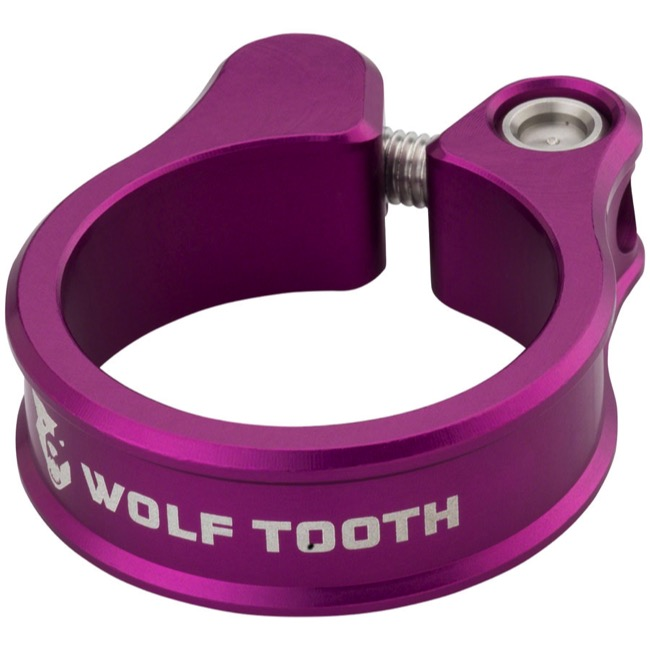 Wolf Tooth Components Seatpost Clamp - 28.6mm (Purple)
