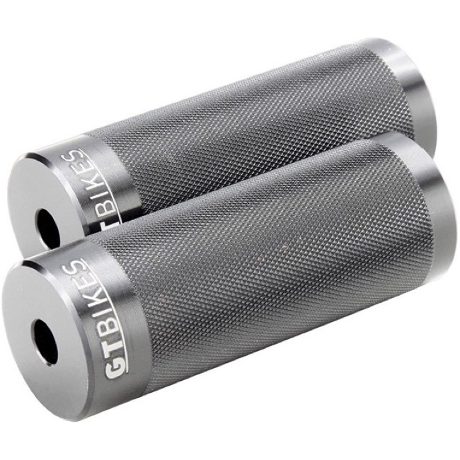 GT Cheat Code Alloy Pegs - Pair (Silver)