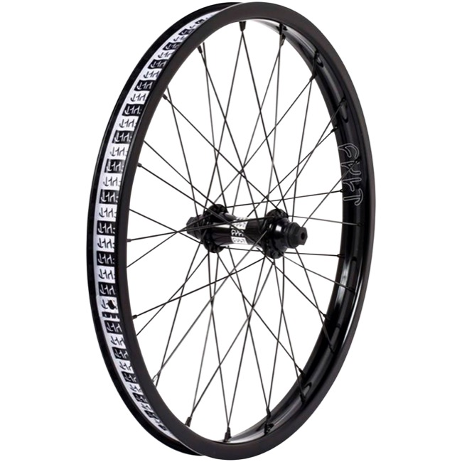 "Cult Crew 20"" Front Wheel - 20"" x 36h x 3/8""x100mm Bolt-On (Front Only)"