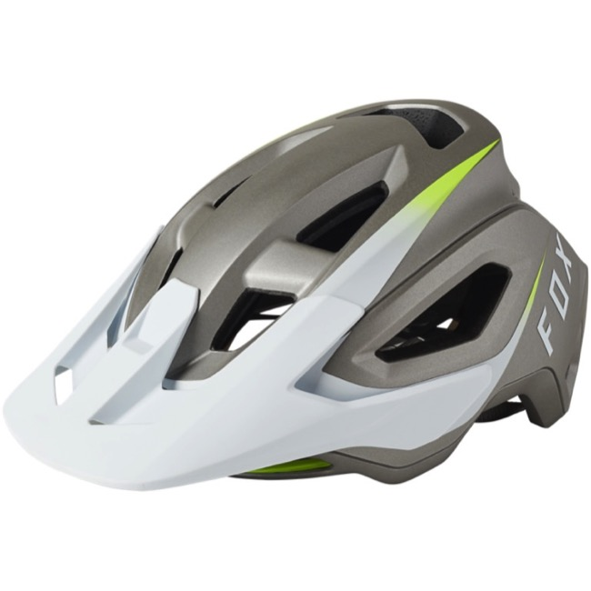 Fox Racing Speedframe Pro MIPS Helmet 2021 - Repeater White - Large, 59-63cm (Repeater White)
