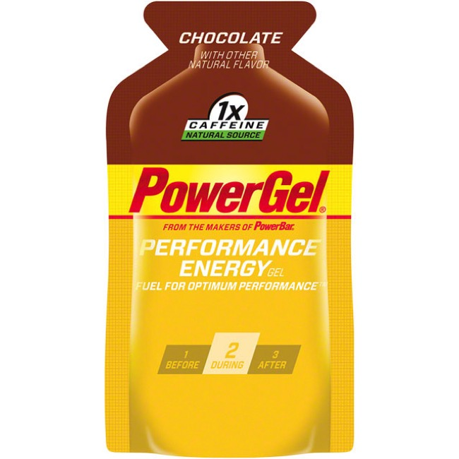 PowerBar PowerGel - Chocolate (Box of 24)