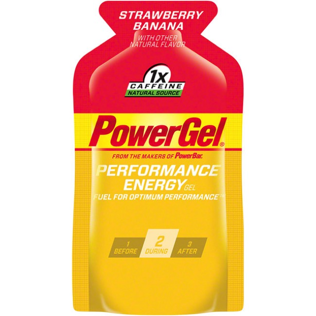 PowerBar PowerGel - Strawberry Banana (Box of 24)