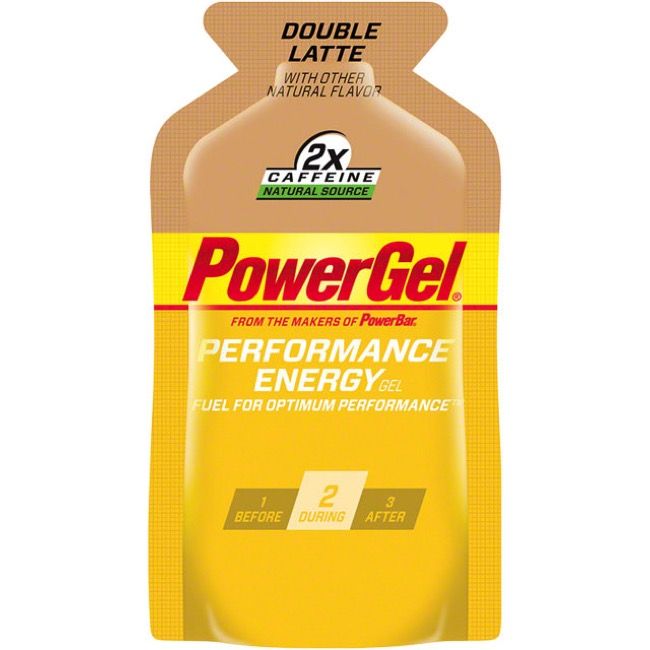 PowerBar PowerGel - Double Latte (Box of 24)