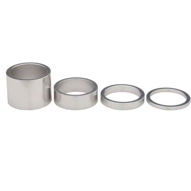 Chris King Headset Spacer Kits - Silver - 1 1/8