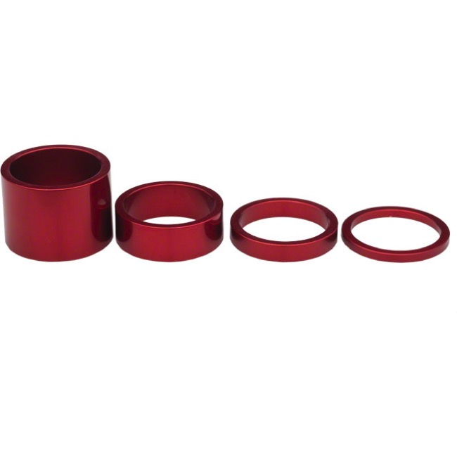 Chris King Headset Spacer Kits - Red - 1 1/8