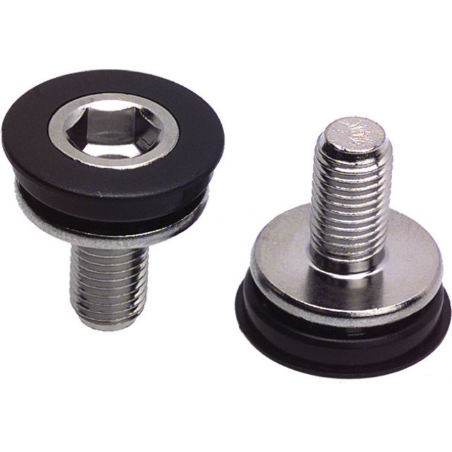 Problem Solvers Crank Fixing Bolts - 8mm hex head bolt & cap (Pair)