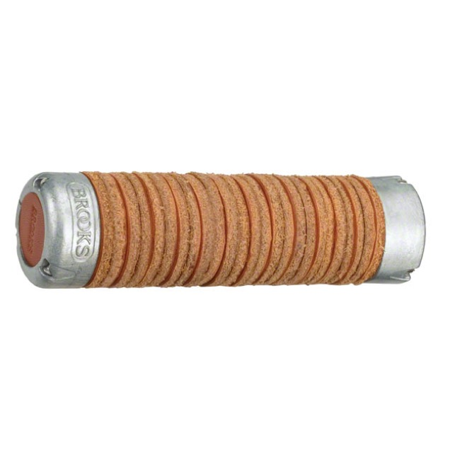 Brooks Plump Leather Ring Grips - Honey (Pair)