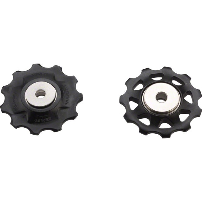 Shimano Upper and Lower Pulleys and Bolts - XTR M972/M971/970/953/2/1 Pulley Set (pair)