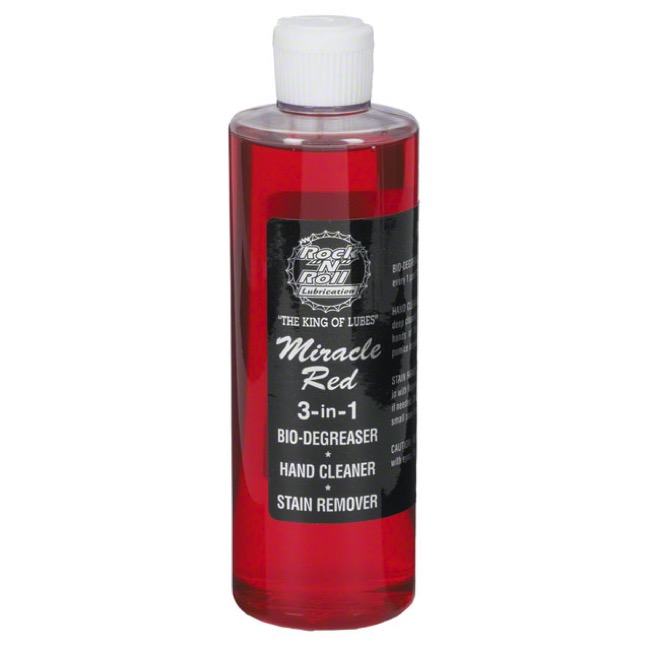 Rock n Roll Miracle Red Bio-Cleaner/Degreaser - 16 oz Drip Bottle