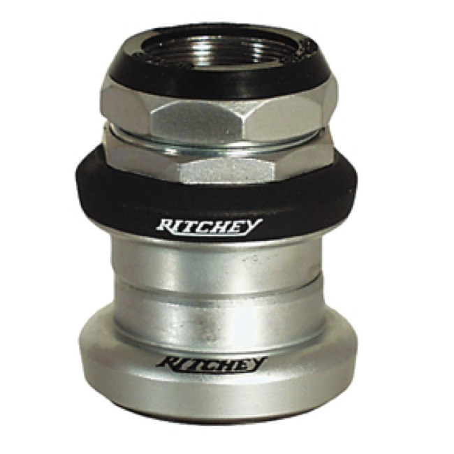 "Ritchey Logic Threaded Headset - 1"" Threaded, 26.0 Crown (Silver)"