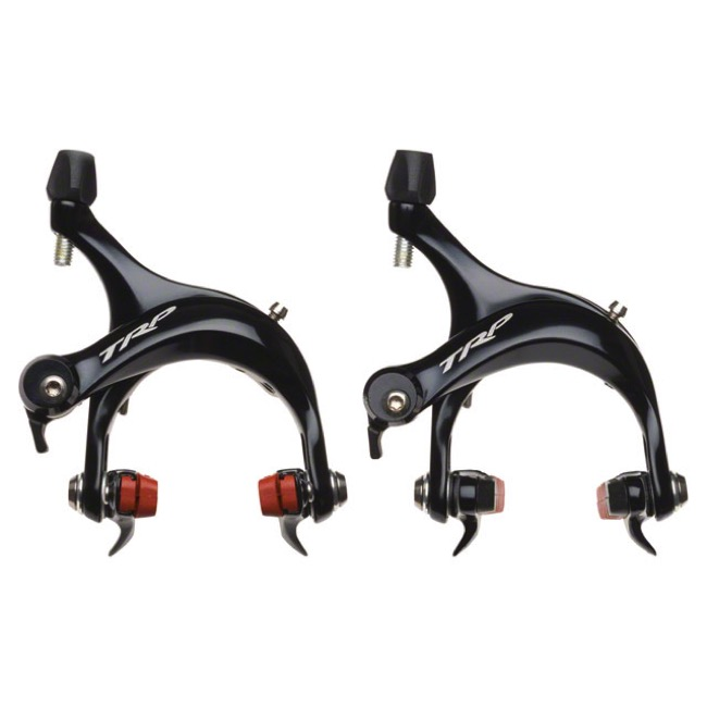 Tektro R920 Short Pull Brake Caliper Set - Black - Front and Rear (Black)