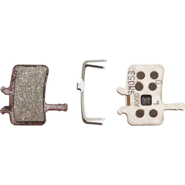 Avid Disc Brake Pads - Juicy/BB-7 Organic/Alloy Back