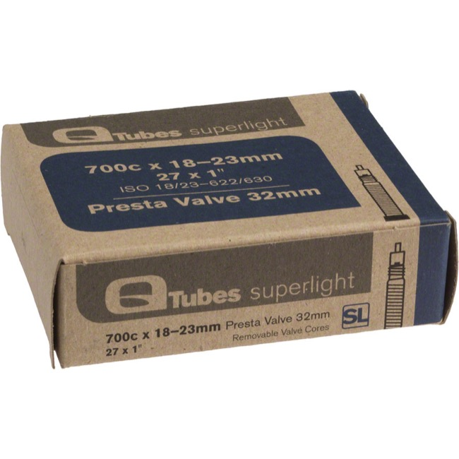 Q Tubes Super Light Presta Tubes - 700c - 700 x 18-23c (32mm PV)