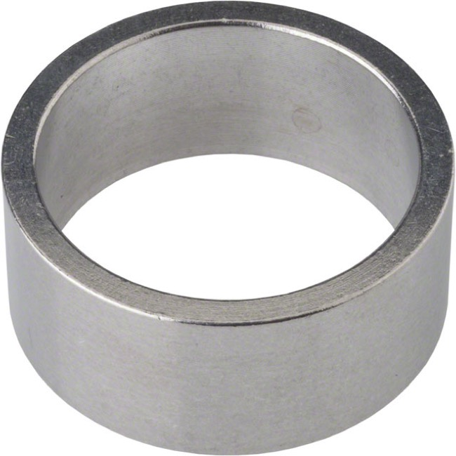 "Wheels Manufacturing Alloy Headset Spacers - 1 1/8"" x 15mm Each (Silver)"