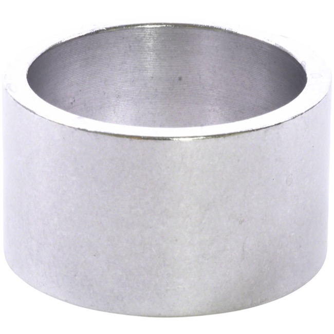 "Wheels Manufacturing Alloy Headset Spacers - 1 1/8"" x 20mm Each (Silver)"